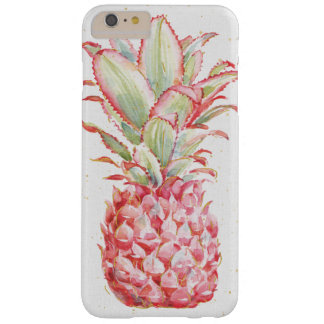 Tropical   Pink Pineapple Barely There iPhone 6 Plus Case