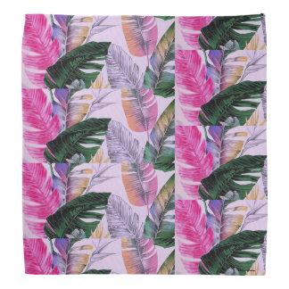 Tropical Plant Pattern Bandana