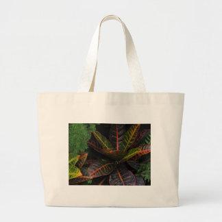 Tropical Plants Canvas Bag