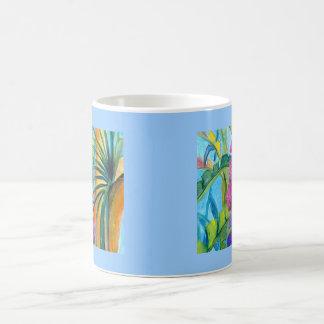 Tropical Plants Coffee Mugs