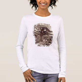 Tropical Plants in the Egyptian Room, Crystal Pala Long Sleeve T-Shirt