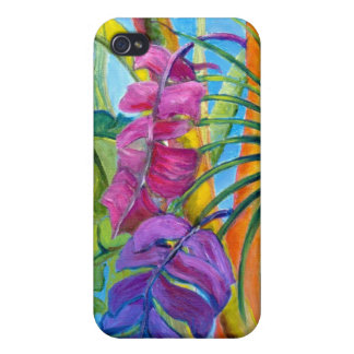 Tropical Plants iPhone 4 Cases