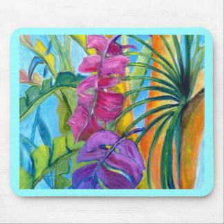 Tropical Plants Mouse Pad