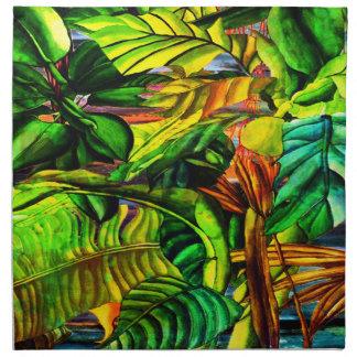 Tropical Plants Napkin