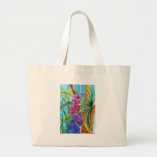 Tropical Plants Tote Bags