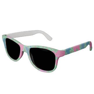 Tropical Print Boho Sunglasses