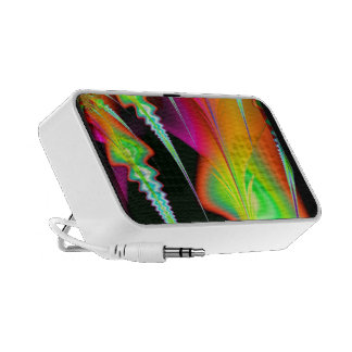 Tropical Psychedelic iPhone Speaker