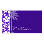 Tropical Purple Hibiscus