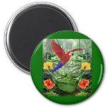 Tropical Rain Forest Fridge Magnet