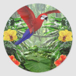 Tropical Rain Forest Stickers