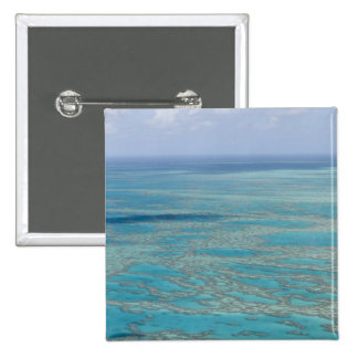 Tropical reef, Great Barrier Reef, Queensland, 15 Cm Square Badge