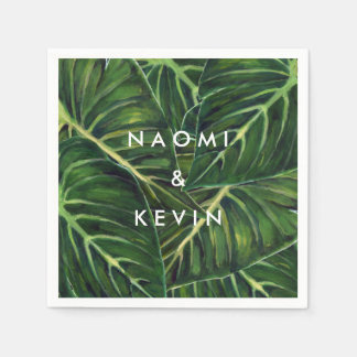 Tropical Romance / Napkin Paper Serviettes