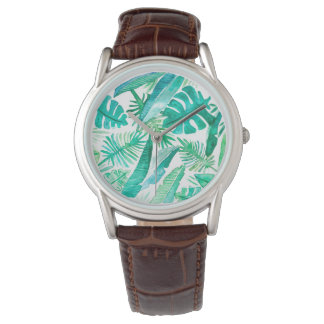 Tropical Safari Watch By Megaflora Design