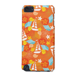 Tropical Sailboat Pattern iPod Touch (5th Generation) Cover