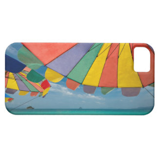 Tropical sand beach and turquoise sea. iPhone 5 case