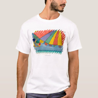 Tropical sand beach and turquoise sea. T-Shirt