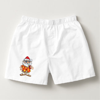 TROPICAL SANTA BOXER SHORTS BOXERS