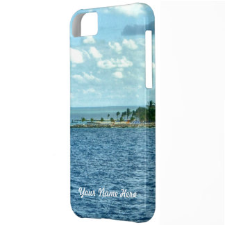 Tropical Scene Cover For iPhone 5C