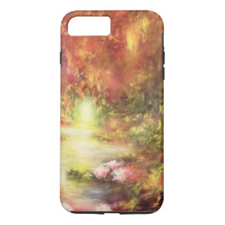 Tropical Scenery 1990 iPhone 7 Plus Case