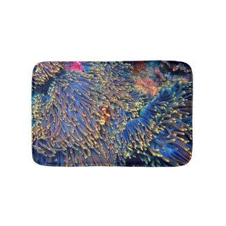 Tropical Sea Coral Bath Mat