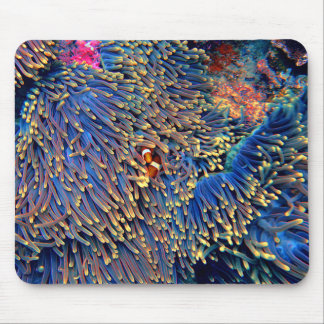 Tropical Sea Coral Mouse Mat