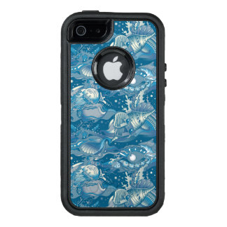 Tropical Sea Pattern OtterBox Defender iPhone Case
