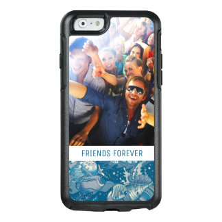 Tropical Sea Pattern | Your Photo & Text OtterBox iPhone 6/6s Case