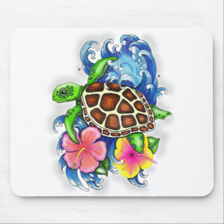 Tropical Sea Turtles Mouse Mat