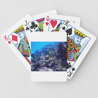 Tropical Sealife Bicycle Playing Cards