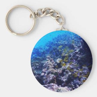 Tropical Sealife Key Ring