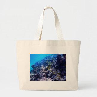Tropical Sealife Large Tote Bag