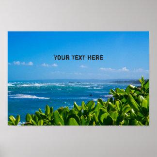 Tropical Seascape | The Dominican Republic Poster
