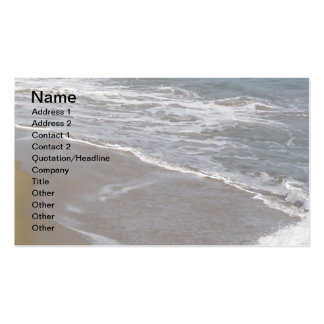 Tropical Seashore Pack Of Standard Business Cards