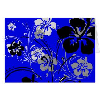 Tropical Serenade (Blue) Card