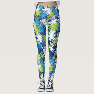 Tropical Seychelles Leggings