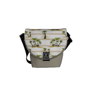 Tropical Shack And Palms Commuter Bag