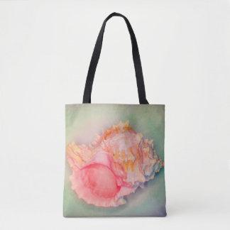 Tropical Shell Tote Bag