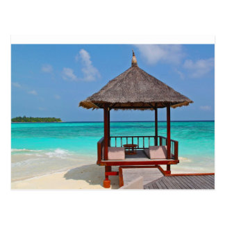 Tropical Shelter Postcard