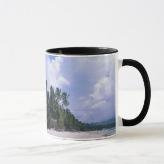 Tropical shoreline mug