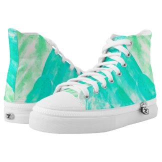 Tropical Souvenir Printed Shoes