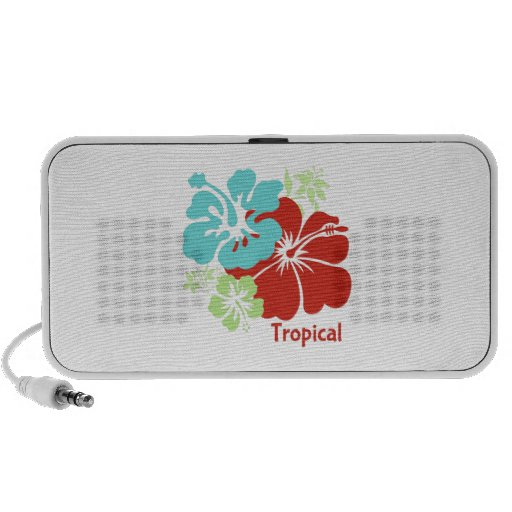 Tropical iPod Speakers