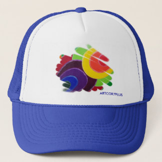 Tropical Spirals Truck Hat