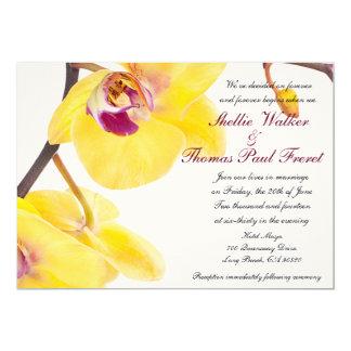 Tropical Spring/Summer Wedding Invitations