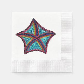 Tropical Starfish Paper Serviettes
