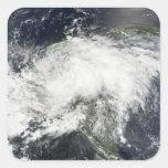 Tropical Storm Arthur Square Stickers