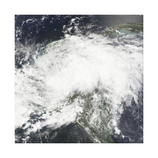 Tropical Storm Arthur Stretched Canvas Prints