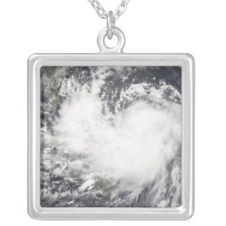 Tropical Storm Chanchu 2 Silver Plated Necklace