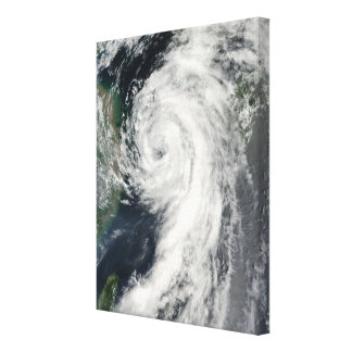 Tropical Storm Dianmu Canvas Print