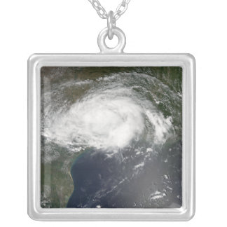 Tropical Storm Edouard 2 Silver Plated Necklace