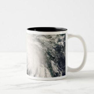 Tropical Storm Fay 3 Two-Tone Coffee Mug